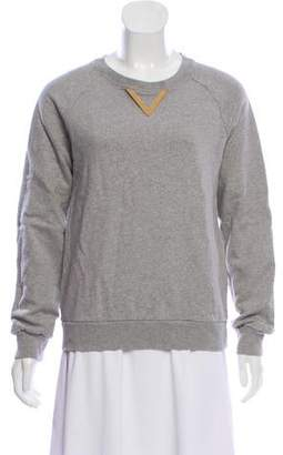 Sophie Hulme Embellished-Accented Casual Sweatshirt