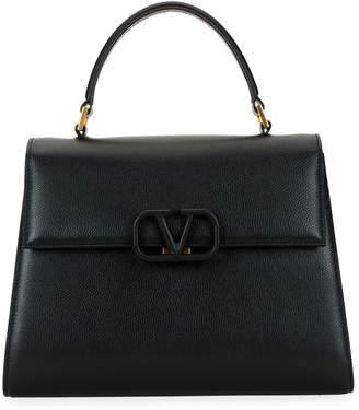 Valentino Garavani VSling Single-Handle Grain Top Handle Bag