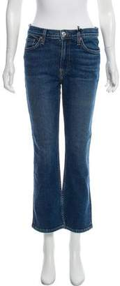 RE/DONE Kick Flare Stretch Mid-Rise Jeans w/ Tags