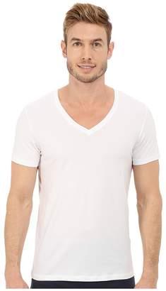 Hanro Cotton Superior V-Neck Shirt Men's Pajama