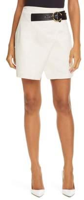 A.L.C. Cami Cotton & Linen Wrap Skirt
