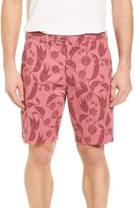 Ted Baker Uniprin Trim Fit Floral Golf Shorts
