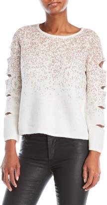 Design History Cutout Sleeve Sweater