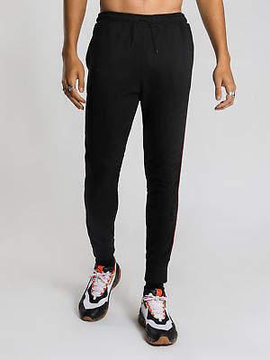 Wilson New Henleys Mens Track Pants In Black Pants & Chinos Track Pants