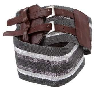 Gunex Woven Striped Belt
