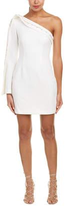 Keepsake One-Shoulder Sheath Dress