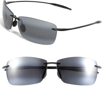 Maui Jim Lighthouse 65mm PolarizedPlus2(R) Rimless Sunglasses
