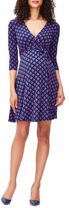 Women's Leota 'Perfect Wrap' Maternity Dress $148 thestylecure.com