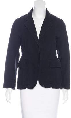 Maison Margiela Fitted Notched Lapel Blazer