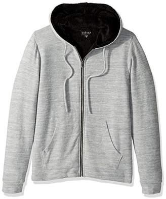Velvet by Graham & Spencer Men's Velvet Salvadore Cozy Jersey Zip up Hoodie Sweater