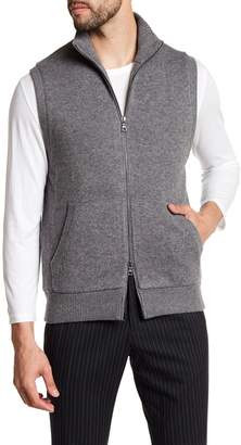 Vince Front Zip Solid Vest