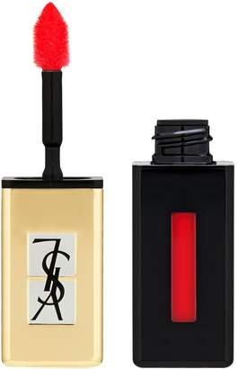 Saint Laurent Rouge Pur Couture Vernis A Levres Pop Water Glossy Stain - Rouge Splash 6ml