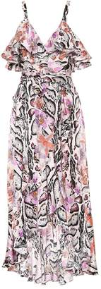 Temperley London Printed silk dress
