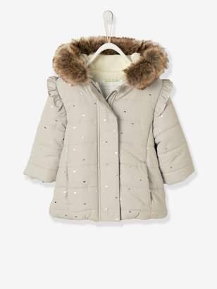 162327b3bbda Kids Lined Jacket With Faux Fur Lined Hood - ShopStyle UK