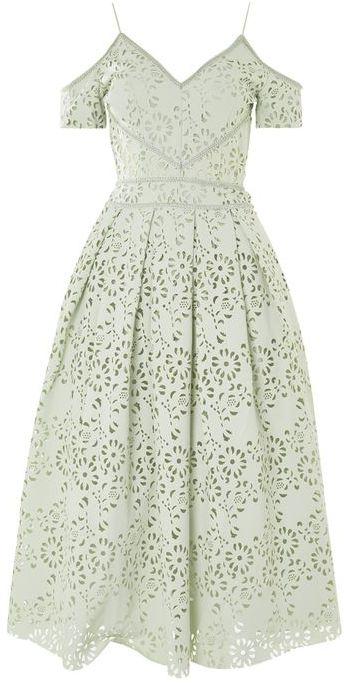 TopshopTopshop Lasercut prom bardot dress