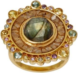 Shana Gulati Diamond Slice 14K Clad & Sterling Silver Dale Ring