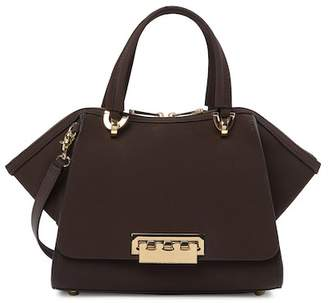 Zac Posen Eartha Classic Double Handle Leather Satchel