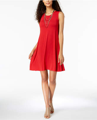 Style&Co. Style & Co. Sleeveless A-Line Swing Dress