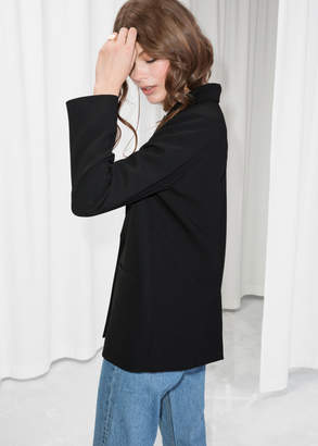 Fitted Long Blazer