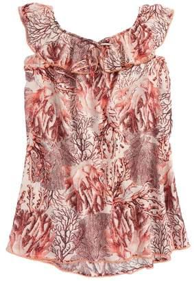Maaji Starfish Wishes Ruffle Cover-Up Dress (Big Girls)