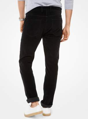 Michael Kors Parker Slim-Fit Corduroy Pants