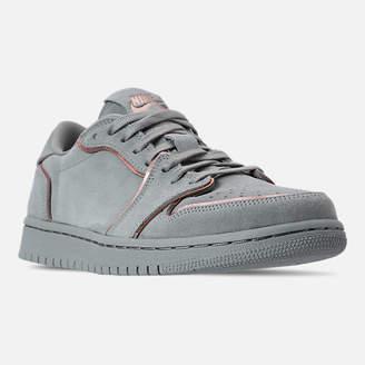 Nike Women's Air Jordan Retro 1 Low No Swoosh Casual Shoes