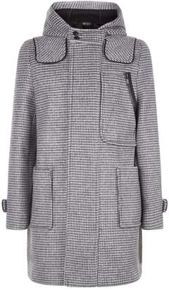 N°21 N 21 Miniature Check Coat