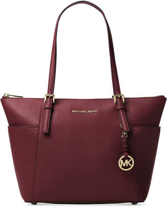 Michael Kors Jet Set East West Top Zip Large Tote