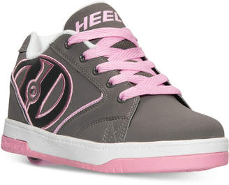 Heelys Girls' Propel 2.0 Casual Skate Sneakers from Finish Line $54.99 thestylecure.com