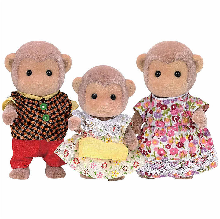 INTERNATIONAL PLAYTHINGS Calico Critters Mango Monkey Family