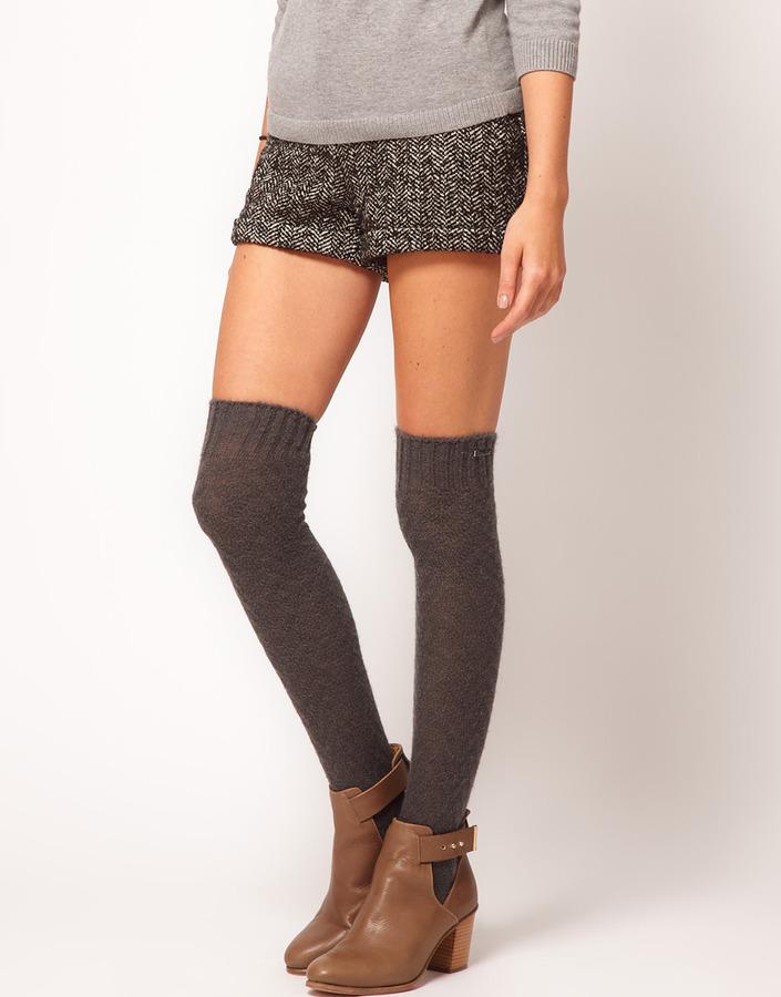 Calvin Klein Over The Knee Socks