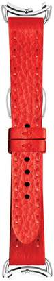Fendi Selleria Red Leather Watch Strap, 18mm
