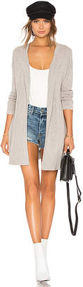 James Perse Drop Shoulder Cardigan