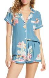 Plum Pretty Sugar Floral Print Short Pajamas