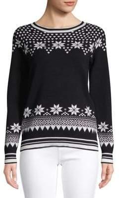 Tommy Hilfiger Fair Isle-Print Sweater