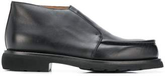 Doucal's no lace ankle boots