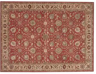 Pottery Barn Madeline Persian Rug - Red Multi