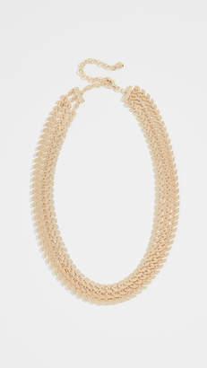 BaubleBar Crimson Statement Necklace