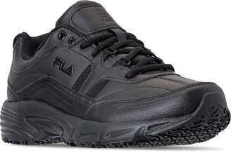 Fila Men's Memory Workshift Slip Resistant Casual Shoes