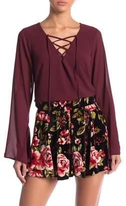 Show Me Your Mumu The Zuko Bell Sleeve Top