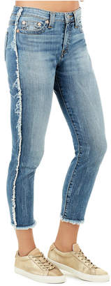 True Religion COLETTE HI RISE TAPERED WOMENS SKINNY JEAN