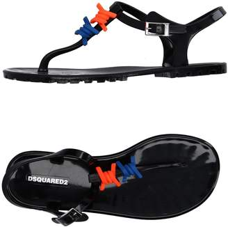 DSQUARED2 Toe strap sandals