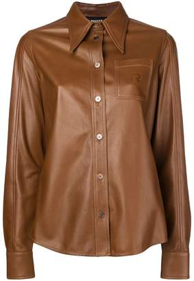 Rochas pointed collar shirt