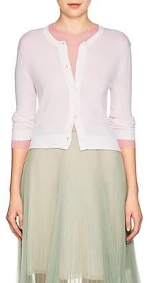 Prada Women's Wool Crop Cardigan - Ivory