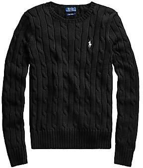 Polo Ralph Lauren Women's Julianna Classic Cable Knit Sweater