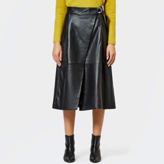 e21b0588083e Whistles Leather Skirt - ShopStyle UK