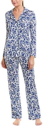 Cosabella Holiday 2Pc Pajama Pant Set