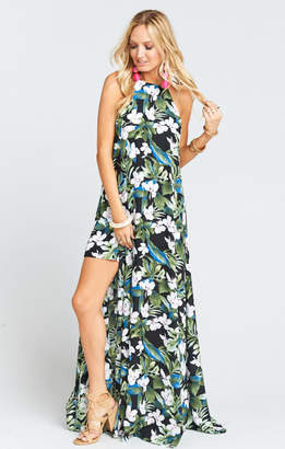 MUMU Bronte Maxi Dress ~ Monet on Vacay
