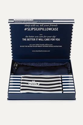 Slip Silk Pillowcase And Eye Mask Set