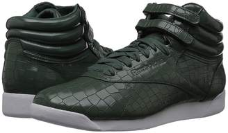 Reebok Freestyle Hi Crackle Women's Classic Shoes